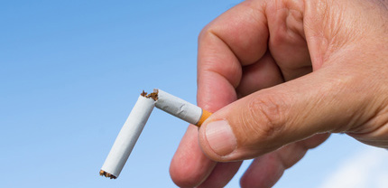 stop smoking conceptual as a wellness programs benefit